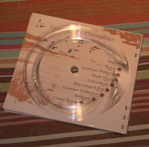 One of the albums showing the track guides